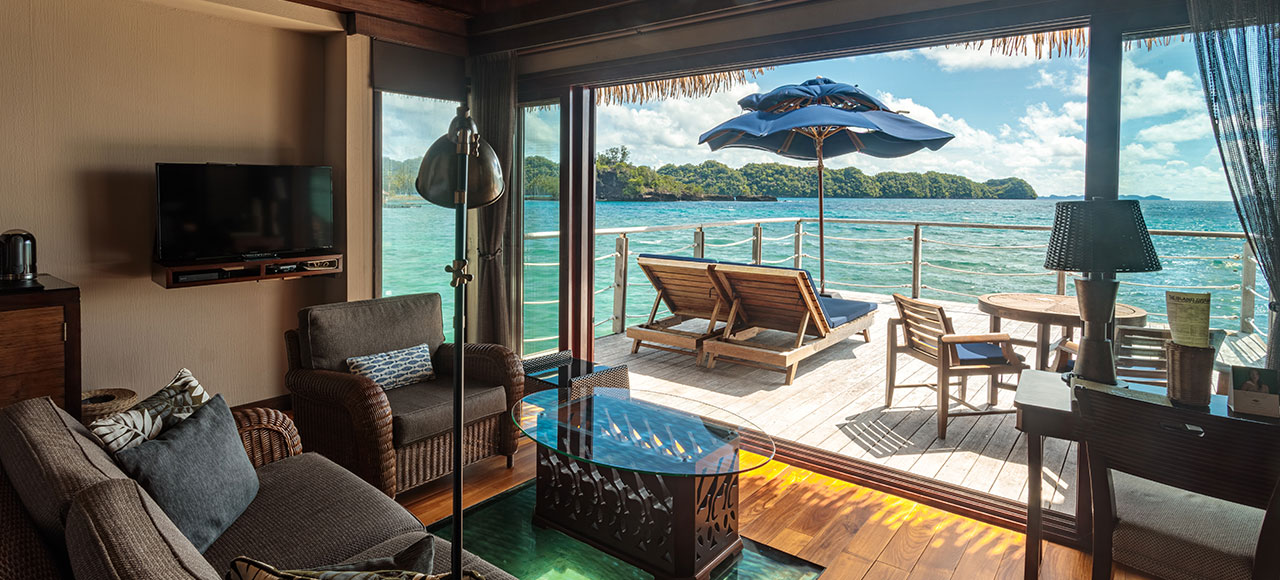 Water Bungalows open